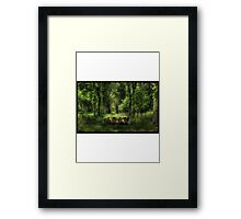 Obey in the nature  Framed Print