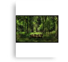 Obey in the nature  Canvas Print