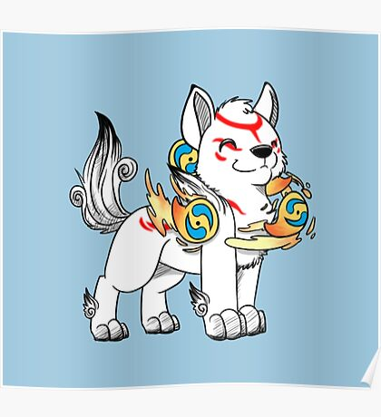 Lil' Ammy with Beads Poster