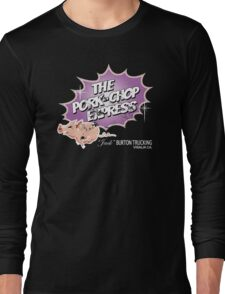 Pork Chop Express - Distressed Light Purple Variant Long Sleeve T-Shirt