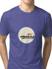 Guineapig and Snake Tri-blend T-Shirt