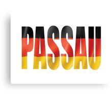 Passau. Canvas Print