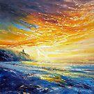 Ballybunion Print beach by Roman Burgan