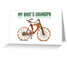 OLD BICYCLES 1 Greeting Card