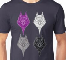 Wolf Pride - Asexuality  Unisex T-Shirt