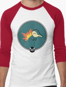 Cyndaquil Redux Men's Baseball ¾ T-Shirt