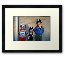 """"""" May the force be with you """" Framed Print"""