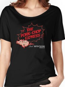 Pork Chop Express - Distressed Extreme Heat Variant Women's Relaxed Fit T-Shirt
