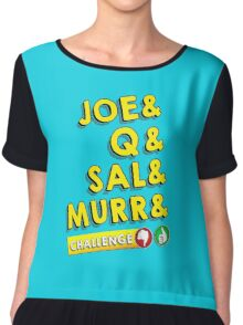 (Impractical Jokers)&Challenge  Chiffon Top