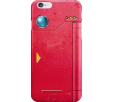 Realistic Pokedex (Red) iPhone Case/Skin