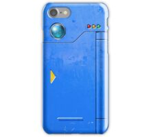 Realistic Pokedex (Blue) iPhone Case/Skin