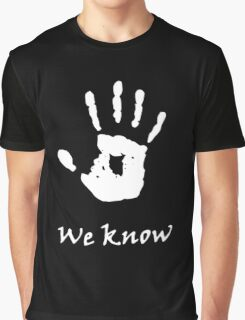 We Know, Dark Brotherhood (TES Skyrim) Graphic T-Shirt