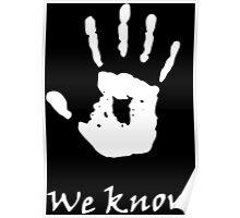 We Know, Dark Brotherhood (TES Skyrim) Poster