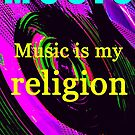 Jimi Hendrix religion by David Lee Thompson