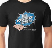 Pork Chop Express - Distressed Blue Variant Unisex T-Shirt