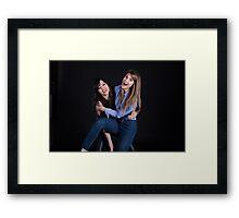 carmilla and laura  Framed Print