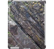 Layers of Tilted Stone iPad Case/Skin
