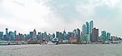 New York Waterfront - panorama by Margaret  Hyde