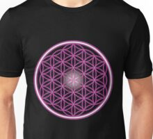 The Pink Flower of Life  Unisex T-Shirt