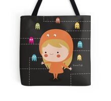 Character packman girl Tote Bag