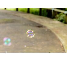 Small Bubble Photographic Print