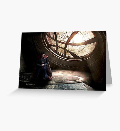 Doctor Strange edit by lichtblickpink Greeting Card