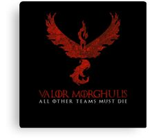 Pokemon Go Valor Morghulis Canvas Print