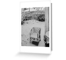 The Winter of Discontent Greeting Card