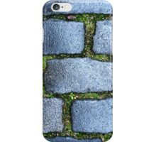 Cobbles in the Old Town iPhone Case/Skin