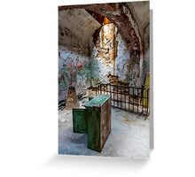Prison Remains Greeting Card