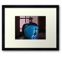 Still life in the window. Framed Print
