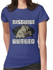 Busted! Womens Fitted T-Shirt