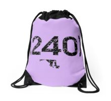 Area Code 240 Maryland Drawstring Bag