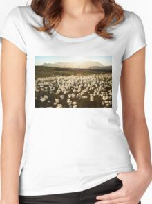Cotton Grass Women's Fitted Scoop T-Shirt