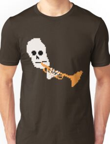 Doot Mr.Skeltal Meme Pixel Art 2spooky4me Unisex T-Shirt