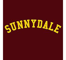 sunnydale high school  Photographic Print
