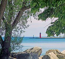 Summertime Along Lake Michigan by kkphoto1