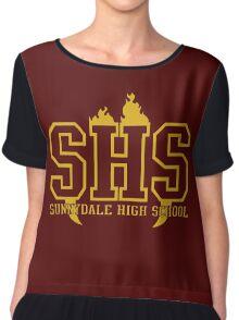 sunnydale high t-shirt Chiffon Top