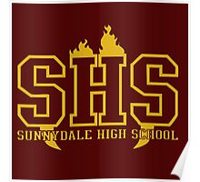 sunnydale high t-shirt Poster