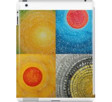 The Four Seasons collage iPad Case/Skin