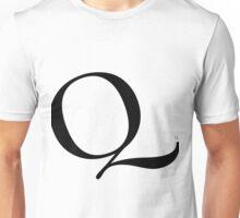 Scaled Letters - Q Unisex T-Shirt