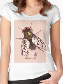 David Cronenberg's The Fly Women's Fitted Scoop T-Shirt