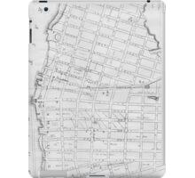 Vintage Map of Williamsburg Brooklyn (1827) iPad Case/Skin