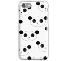 Happy Panda iPhone Case/Skin