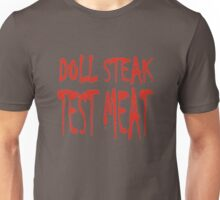 Doll Steak Test Meat Solid Unisex T-Shirt