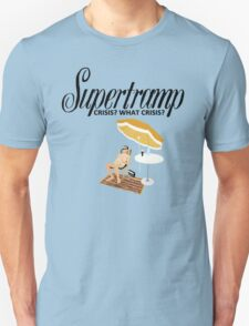 Supertramp Crisis? What Crisis? Unisex T-Shirt