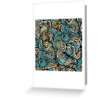 chaotic bright pattern Greeting Card