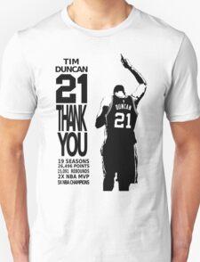 Tim Duncan Retire - San Antonio Spurs NBA Unisex T-Shirt