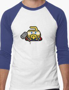 Hammer of the Guards - Curling Rockers Men's Baseball ¾ T-Shirt
