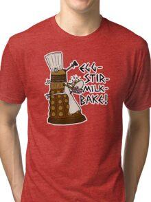 Egg-Stir-Milk-Bake Tri-blend T-Shirt